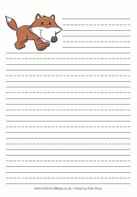 Printable Writing Sheets For Kids #2 | Literacy | Pinterest ...