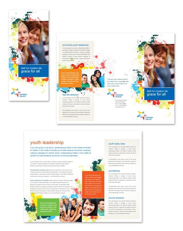 Health Insurance Brochure Samples | Design Type: Brochure Page ...