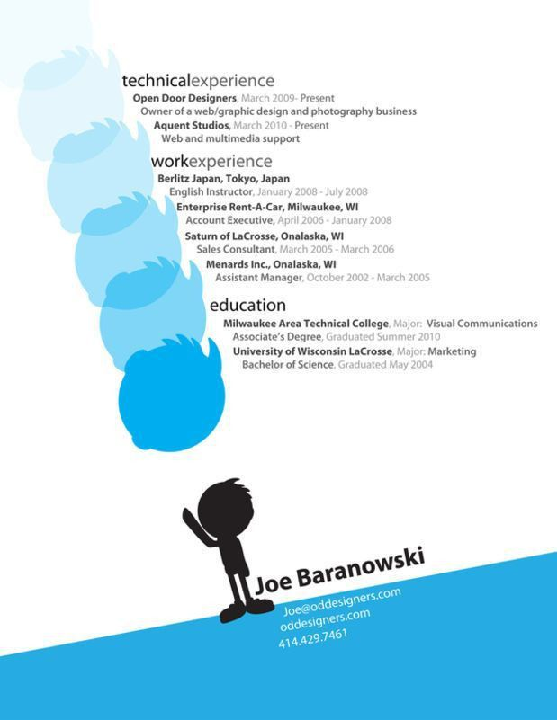 101 best Cool and Creative Resumes/CV images on Pinterest | Resume ...