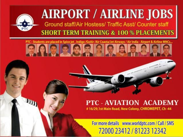 PTC Aviation Academy - Advanced Diploma in Airport & Airline ...