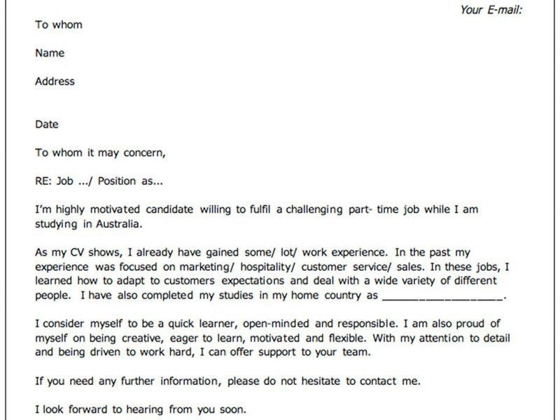 Create A Cover Letter. Download Internal Cover Letter Surprising ...
