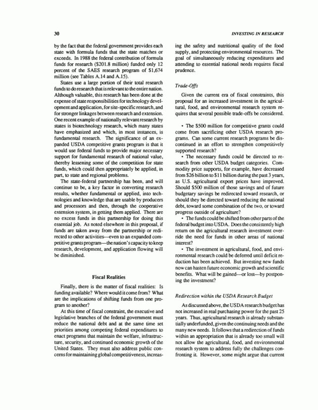 3 Rationale for the Proposal | Investing in Research: A Proposal ...