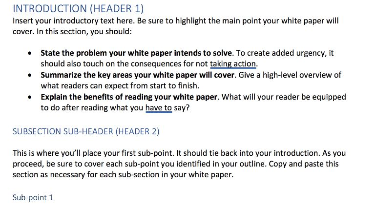 How to Write White Papers People Actually Want to Read - CoSchedule
