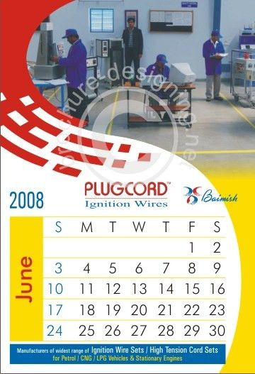 Calendar offer creative Calendar sample no-5487