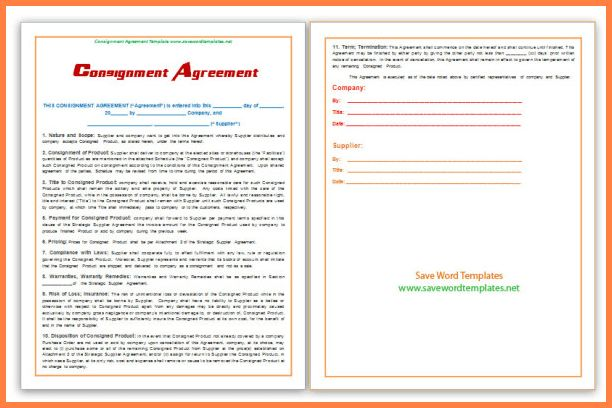 Consignment Agreement Template.Consignment Agreement Template.png ...