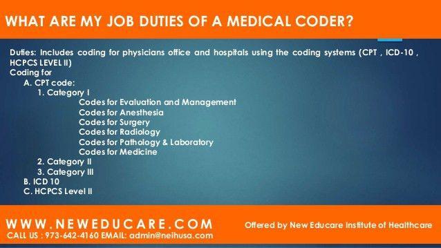 Medical Billing Coder Job Description And Medical Coder Jobs In .