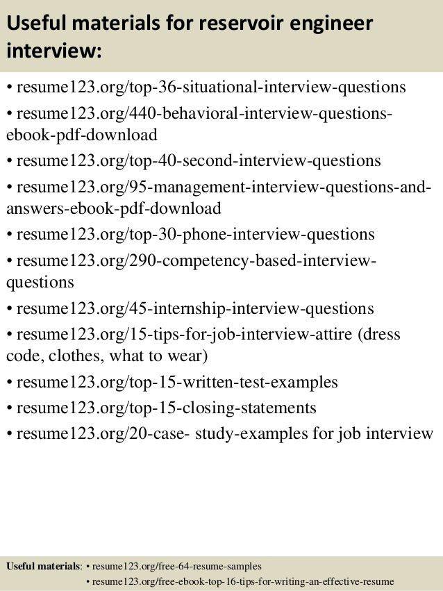 Petroleum Engineer Sample Resume | haadyaooverbayresort.com