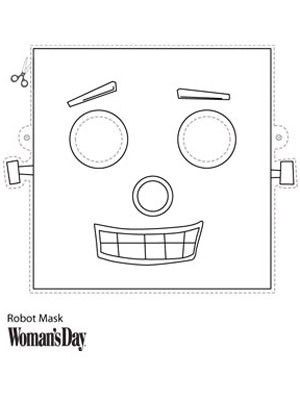Robot Mask | Face masks, Robot and Masking