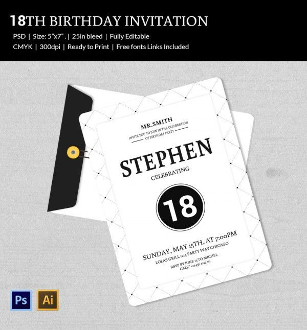 80Th Birthday Invitation Templates – gangcraft.net