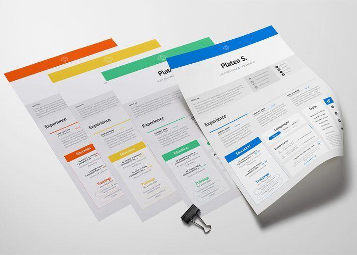 35 Best Free Resume Design Templates | ThemeCot
