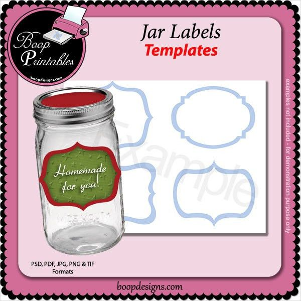 14+ Jar Label Templates - Free PSD, AI, EPS Fotrmat Download ...