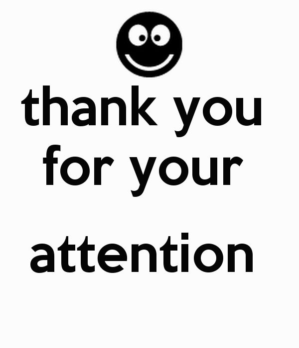 thank you for your attention Poster | sohilamsalim | Keep Calm-o-Matic