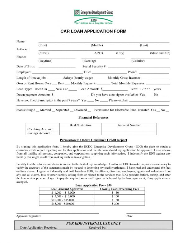 Free Car Loan Agreement Form Download Car Loan Agreement Template ...