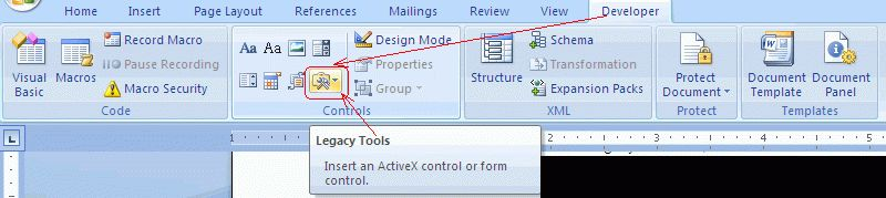 How to add checkboxes (checkbox controls) in a Word document to ...