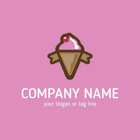 Buy Ice Cream Logo Template. Ideal used for any Ice Cream related ...