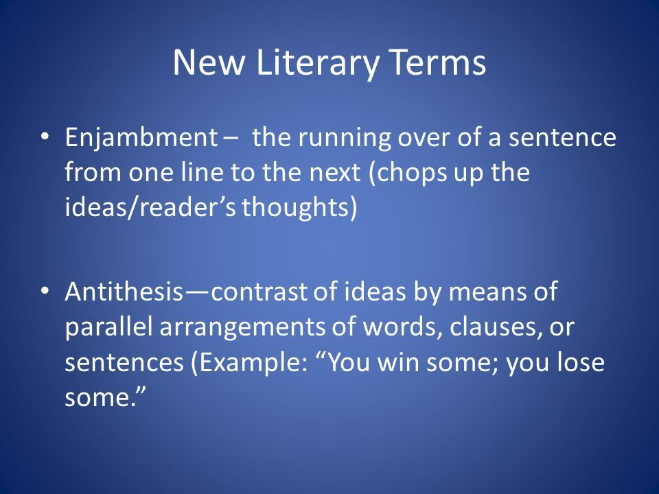Poetry (also called verse) - ppt video online download