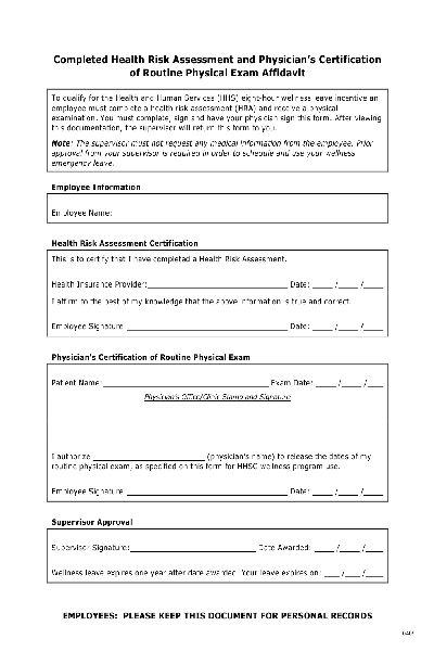 Fill Any PDF Free Forms for affidavit : Page 1
