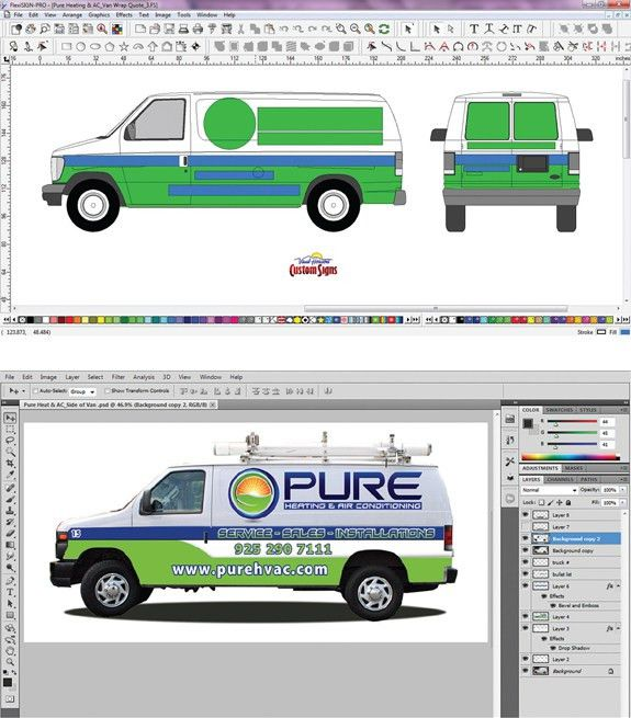 Let's Talk Shop: Vehicle Wrap Templates | Sign & Digital Graphics