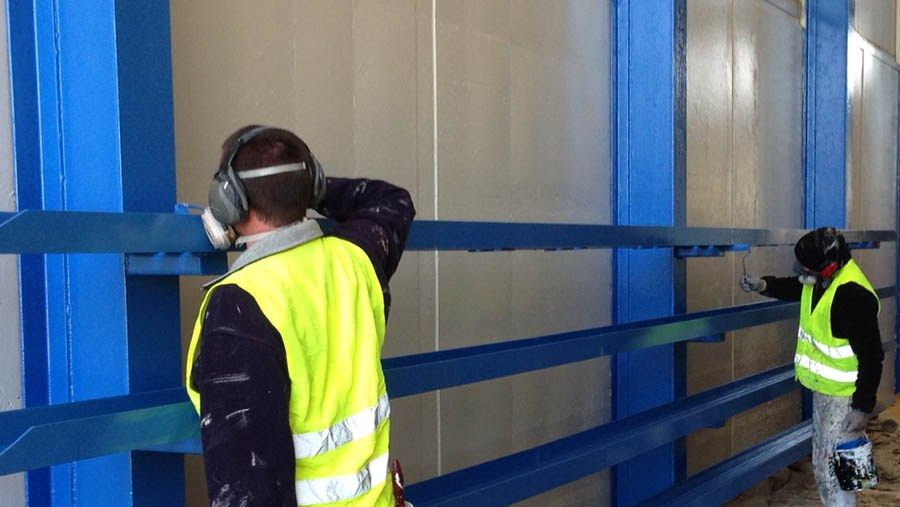 Industrial Painting and Specialised Coatings, high quality ...