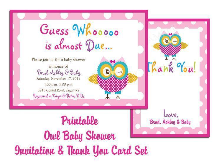 Free Printable Baby Shower Invite | Invitation Ideas