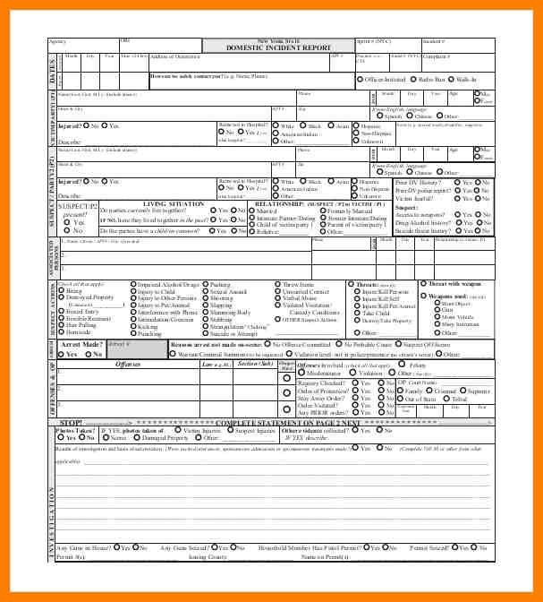 Police Report Template. Police Report Template Jpg · Police Report ...