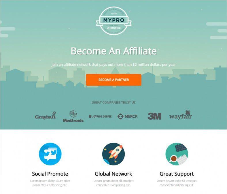 Affiliate Landing Page Templates   Free & Premium   Free & Premium ...