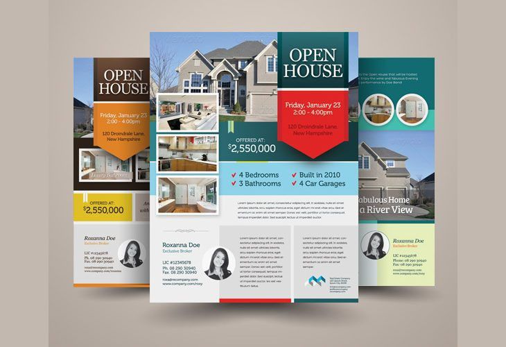 27+ Open House Flyer Templates - Printable PSD, AI, Vector EPS ...