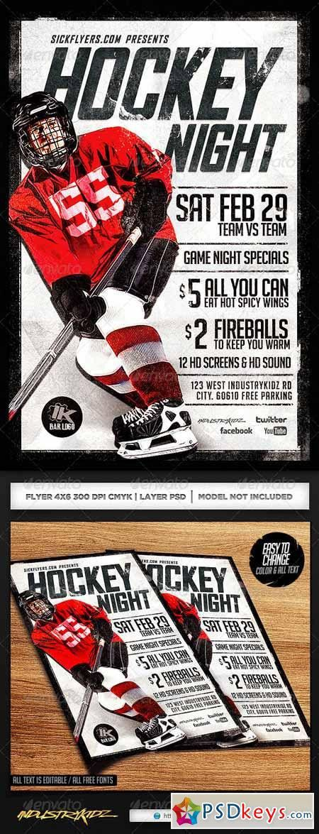 Hockey » Free Download Photoshop Vector Stock image Via Torrent ...