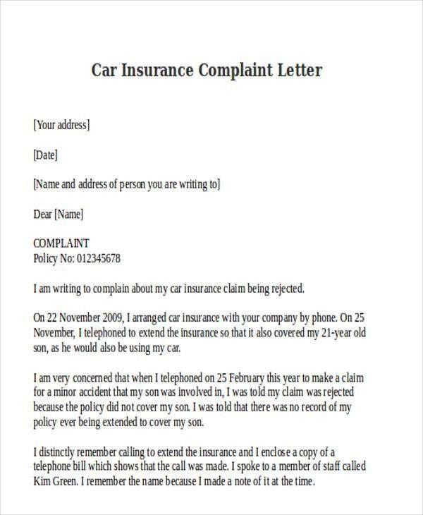 Car insurance claim letter format sample 44billionlater writing an insurance claim letter sample claims 6 spiritdancerdesigns Image collections