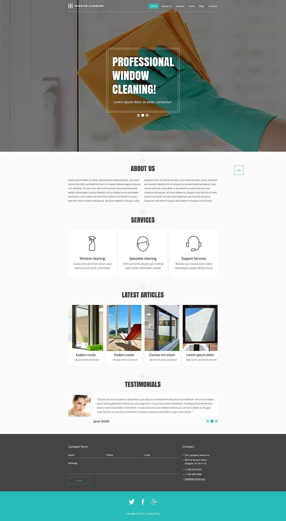 Clean Website Themes - UNLIMITED STOCK