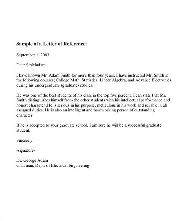 6+ Sample Employee Recommendation Letter - Free Sample, Example ...