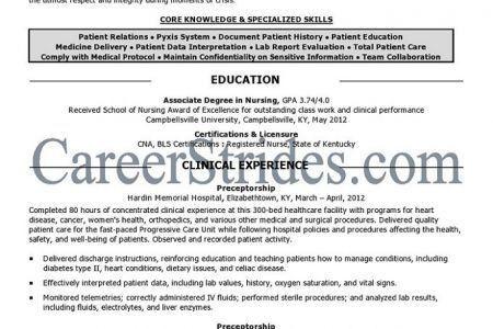 Package: Student Nurse Resume, Cover Letter, & LinkedIn (no ...