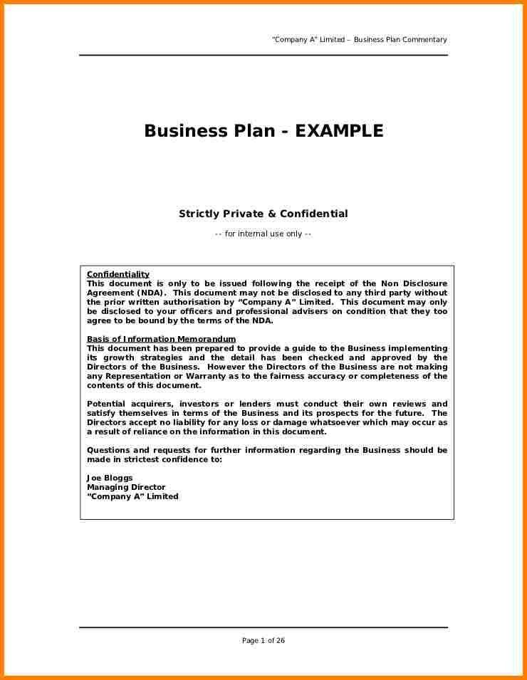 8+ business plan proposal template | Proposal Template 2017