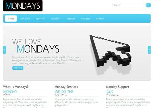 40+ Elegant Free CSS/(X)HTML Templates from 2010 - noupe