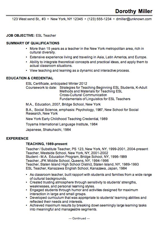 Good Resume Examples - http://www.jobresume.website/good-resume ...