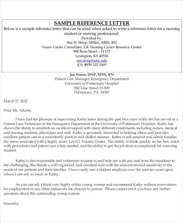 Sample Reference Letter For Coworker - Examples in PDF, Word