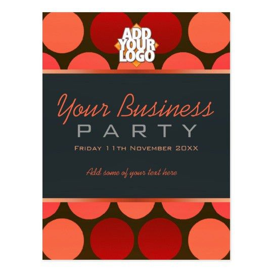 Business Office Workshop Party Invitation template Postcard ...