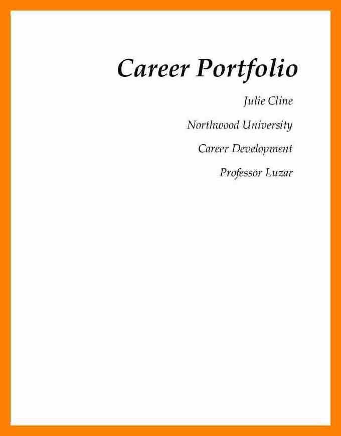 6+ title page portfolio example | target cashier