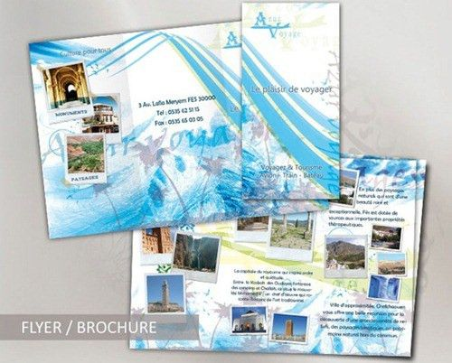 35 Beautiful Travel Brochure Templates