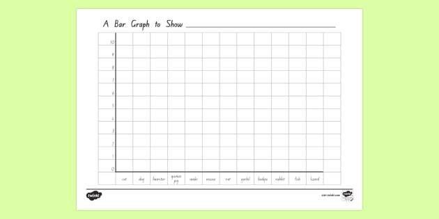 Class Pets Bar Graph Template - New Zealand, maths, graphing