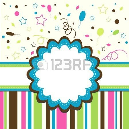 88,558 Birthday Card Template Stock Illustrations, Cliparts And ...