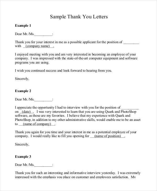 Letter Formats - 36+ Free Word, PDF Documents Download | Free ...