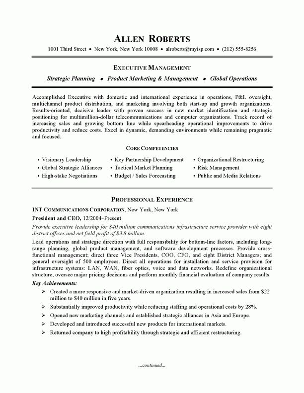 resume template bw executive executive bw. creative inspiration ...