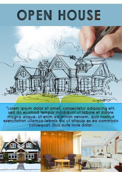 34 best Open House Flyer Ideas images on Pinterest | Flyer ...
