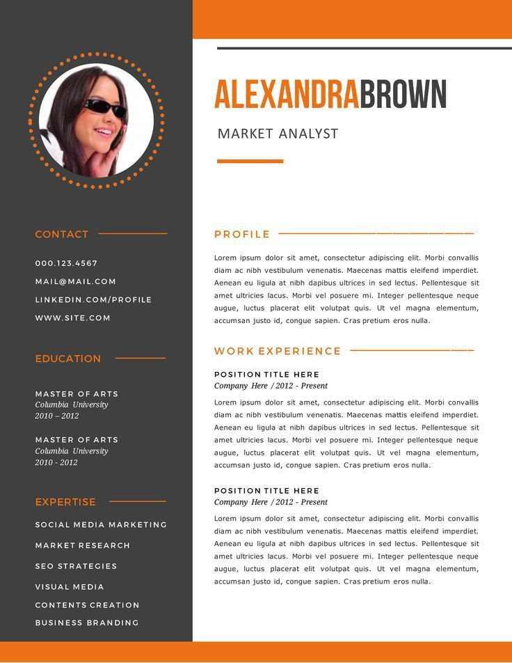 The 25+ best Sample resume templates ideas on Pinterest | Sample ...