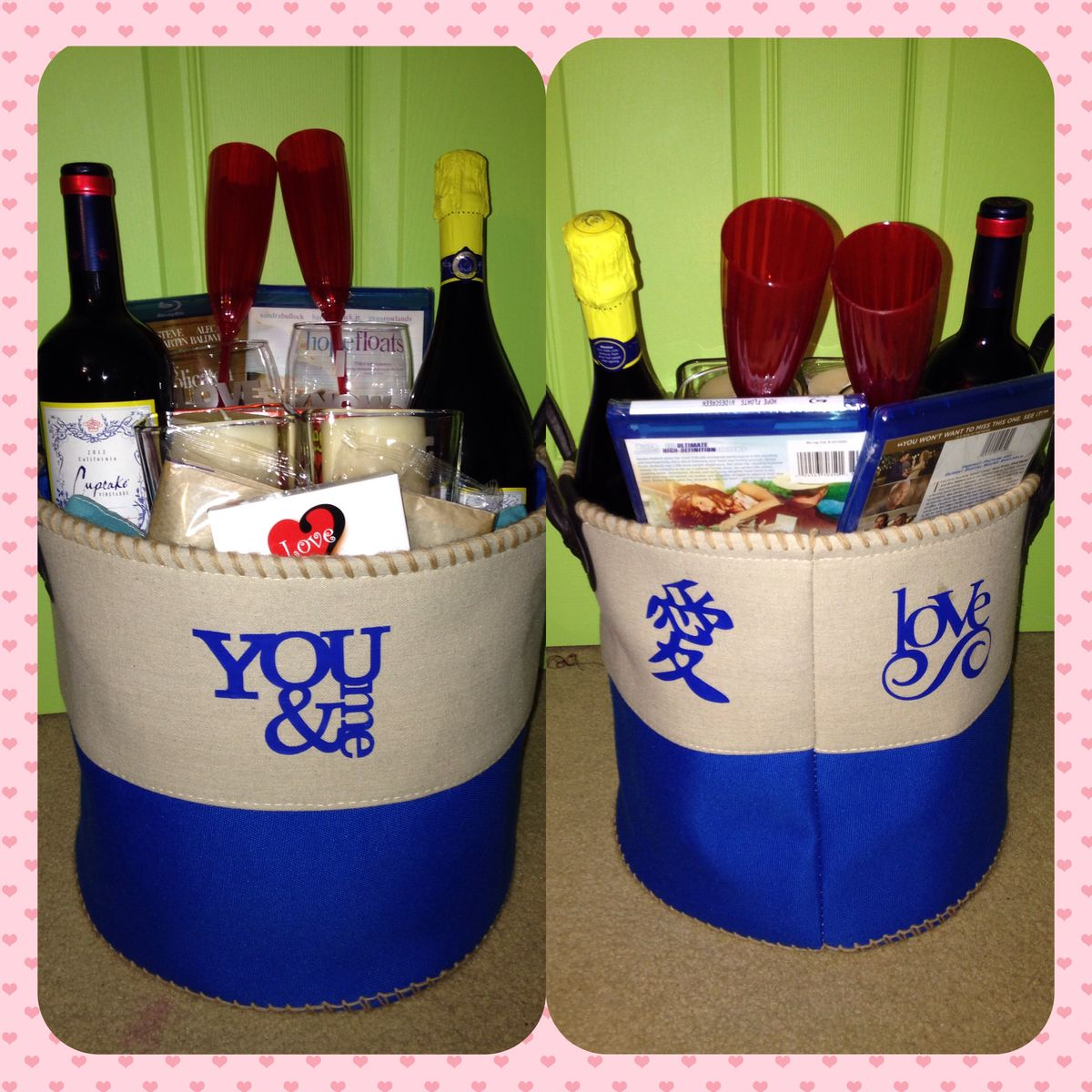 Date Night Gift For Wedding : Date Night Basket for wedding gift Gift Ideas Pinterest Date ...