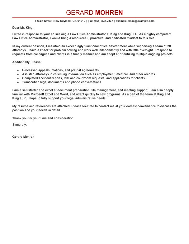 manager administration office support office manager cover letter ...