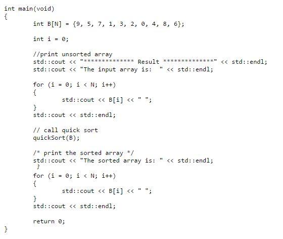 Recursive Sorting Algorithms