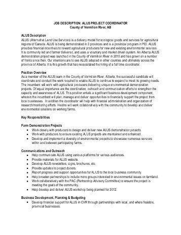 Job description of event planner