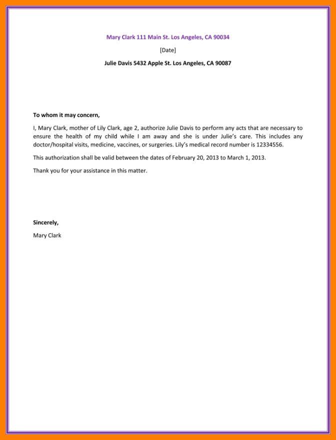 10+ sample authorization letter | sephora resume